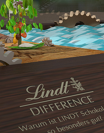 "Lindt ""Difference"" Maschine"